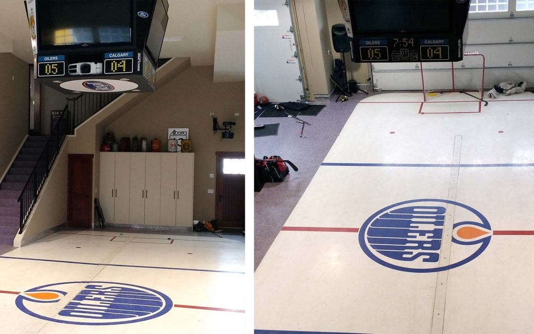 NHL Hockey Night In Canada Sports Floor Or Garage